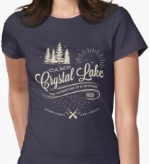Camp Crystal Lake Women's Fitted T-Shirt
