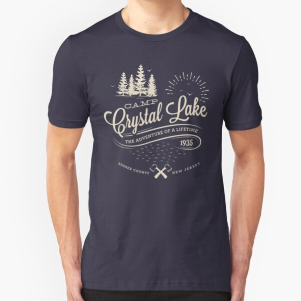 Camp Crystal Lake Slim Fit T-Shirt