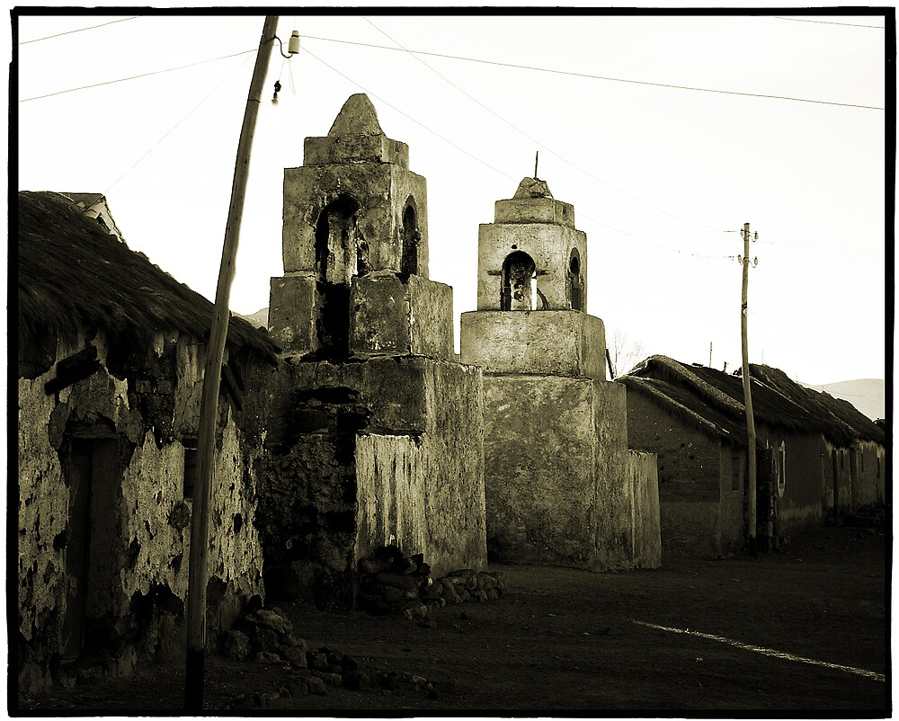 Ancient Church, Puerto Chivica, Bolivia by Andrew Gibson