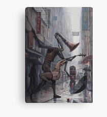 Life is a Dance in The Rain Canvas Print
