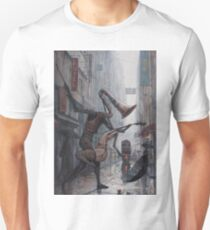 Life is a Dance in The Rain Unisex T-Shirt