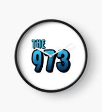 The 973 (blue) Clock