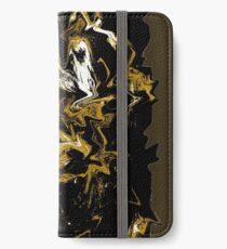 Cave Abstract Expressionism iPhone Wallet/Case/Skin