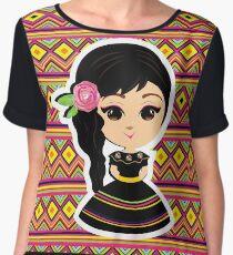 Mexicana Women's Chiffon Top