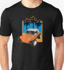 Dune Buggy Orange with Palms Unisex T-Shirt