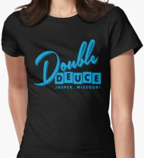 Double Duece Women's Fitted T-Shirt