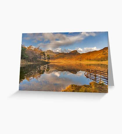 Blea Tarn Lake District Greeting Card