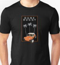 Orange Dune Buggy with 3 Palms Unisex T-Shirt
