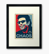 Ian Malcolm 'Chaos' T-Shirt Gerahmtes Wandbild
