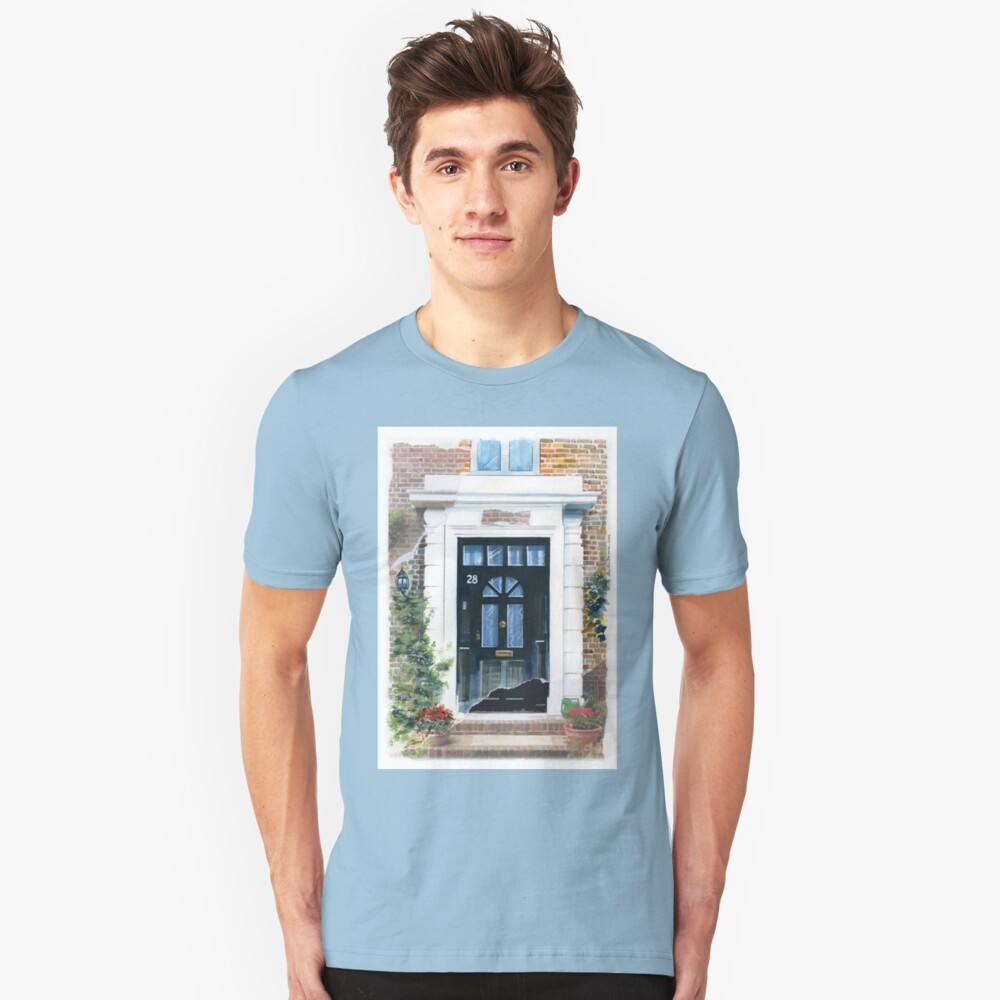 7 DOORS OF LONDON Unisex T-Shirt Front
