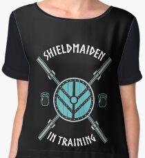 Shield Maiden Chiffon Top