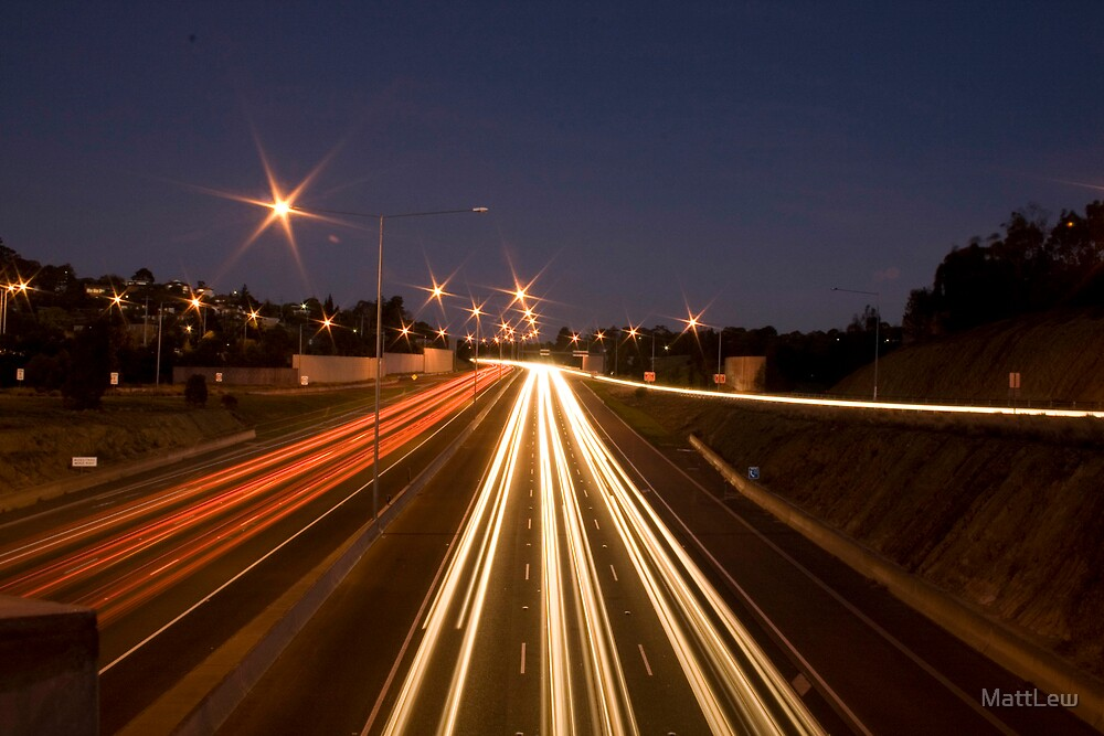 The Eastern Freeway Straight by MattLew