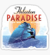 Fhloston Paradise Sticker