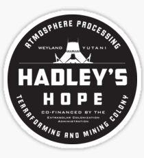 Hadley's Hope Sticker