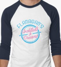 Flanagan's Cocktails and Dreams Men's Baseball ¾ T-Shirt
