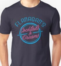 Flanagan's Cocktails and Dreams Unisex T-Shirt
