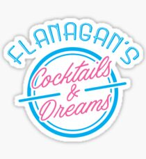 Flanagan's Cocktails and Dreams Sticker