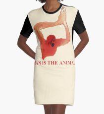 Coil - der Affe von Neapel (Der Mensch ist das Tier, das Feuer des Geistes) T-Shirt Kleid