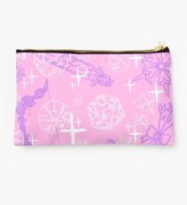 Pretty d&d for babes everywhere-Pink/Lavender Studio Pouch