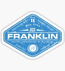 U.S.S. Franklin Sticker