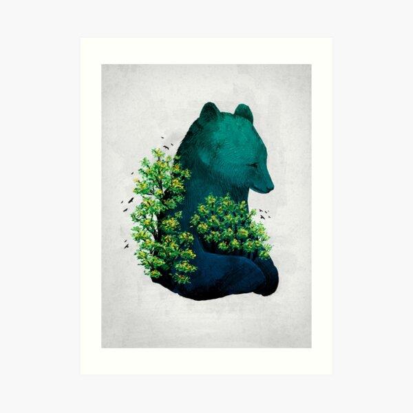 Nature's Embrace Art Print