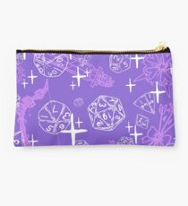 Pretty d&d for babes everywhere-Purple Studio Pouch