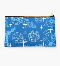 Pretty d&d for babes everywhere-Blue Studio Pouch