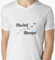 Mischief Managed Men's V-Neck T-Shirt