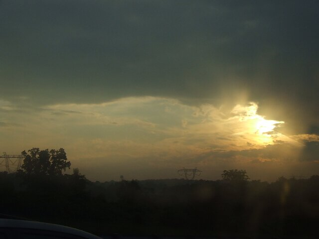 Sunrise on the highway. by Avinash