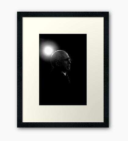 I Saw The Light Framed Print