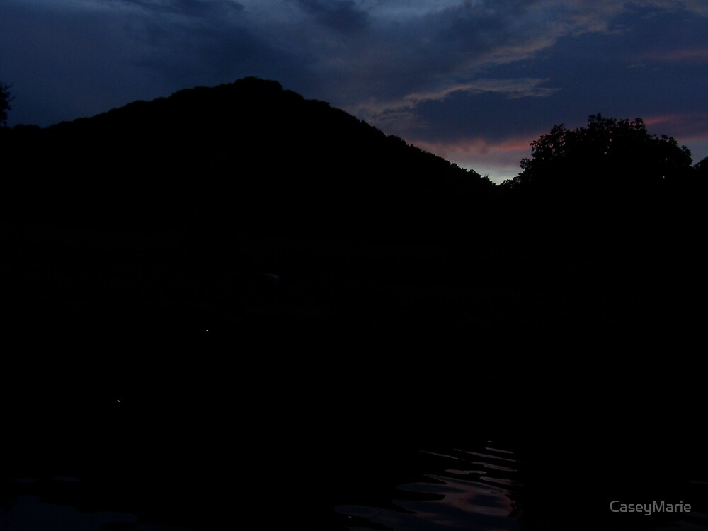 hill in the dark by CaseyMarie