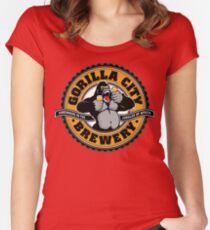 Gorilla City Brewery Women's Fitted Scoop T-Shirt
