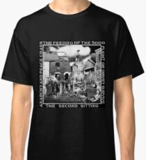 Crass - the Feeding of the 5000, Flight or Drive? Survive, the Second Sitting, Anarchy and Peace Classic T-Shirt