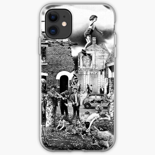 Crass - the Feeding of the 5000, Flight or Drive? Survive, the Second Sitting, Anarchy and Peace iPhone Soft Case
