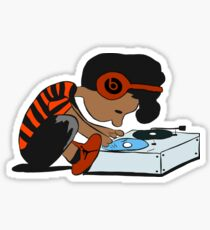 Blaq DJ Schroeder  Sticker