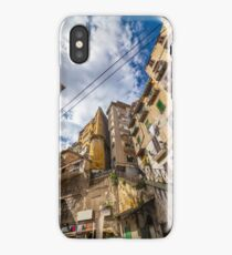 Naples - working class district iPhone Case/Skin
