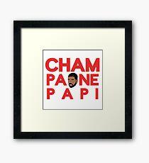 Champagne Papi - Drake Framed Print
