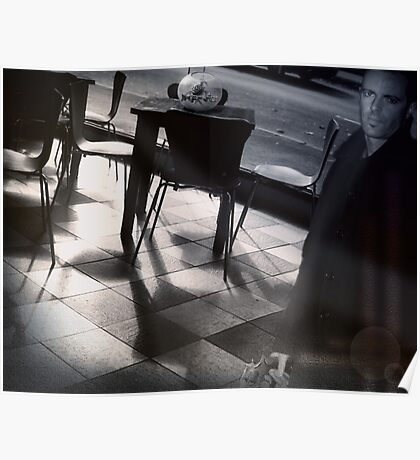 Dinner With Fighting Fish Poster
