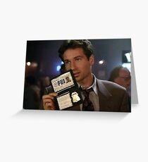 Mulder, Fox Mulder Greeting Card