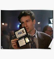 Mulder, Fox Mulder Poster
