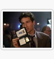 Mulder, Fox Mulder Sticker