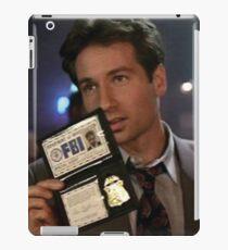 Mulder, Fox Mulder iPad Case/Skin