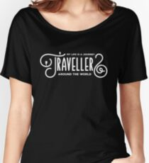 Travellers Lovers Women's Relaxed Fit T-Shirt