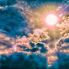 Golden sun & clouds... by Wieslaw Jan Syposz