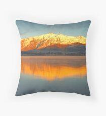 Aspiring Glow Throw Pillow