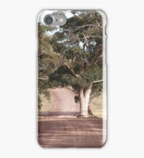 Road to Hancock's lookout South Australia  iPhone Case/Skin