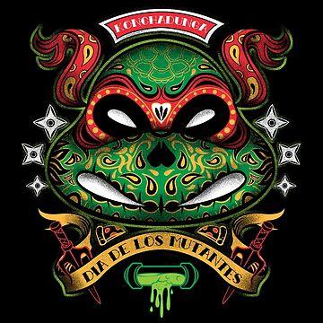 Dia De Los Mutantes Raph by pinteezy