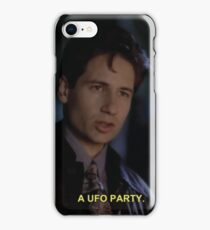 A UFO Party iPhone Case/Skin