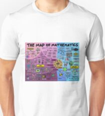 The Map of Mathematics Unisex T-Shirt