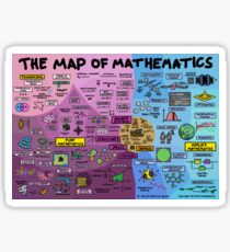 The Map of Mathematics Sticker